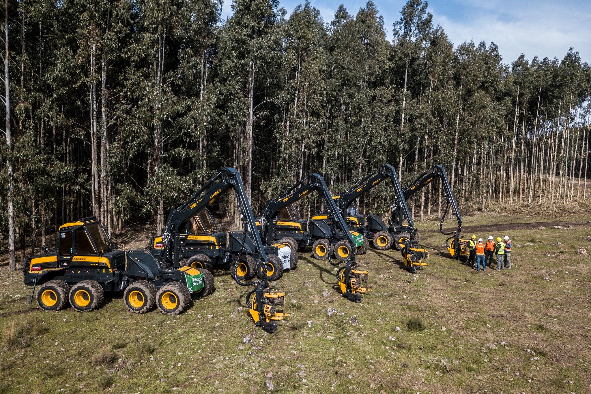 Montes del Plata realiza importante inversión en cosechadoras