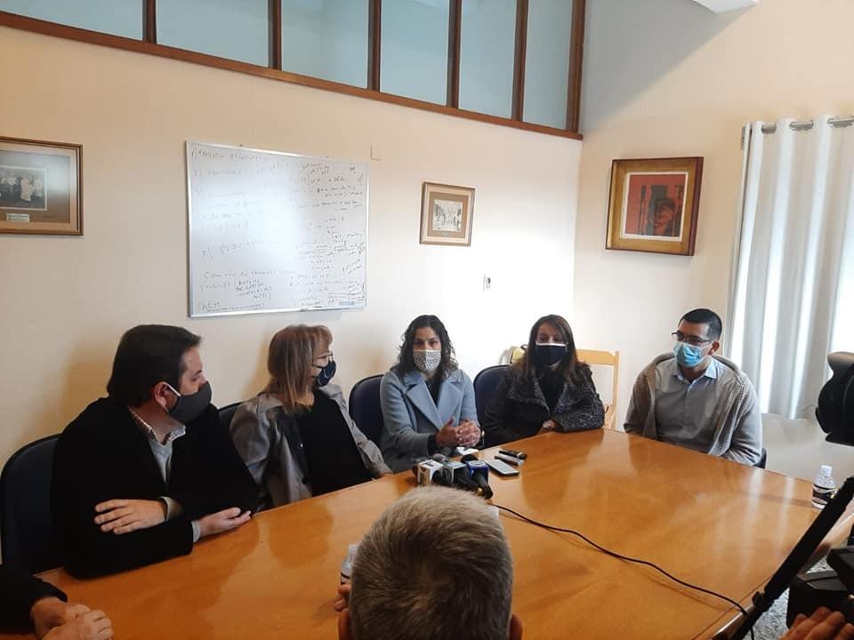 Montes del Plata donó camas y mamelucos al Hospital de Fray Bentos