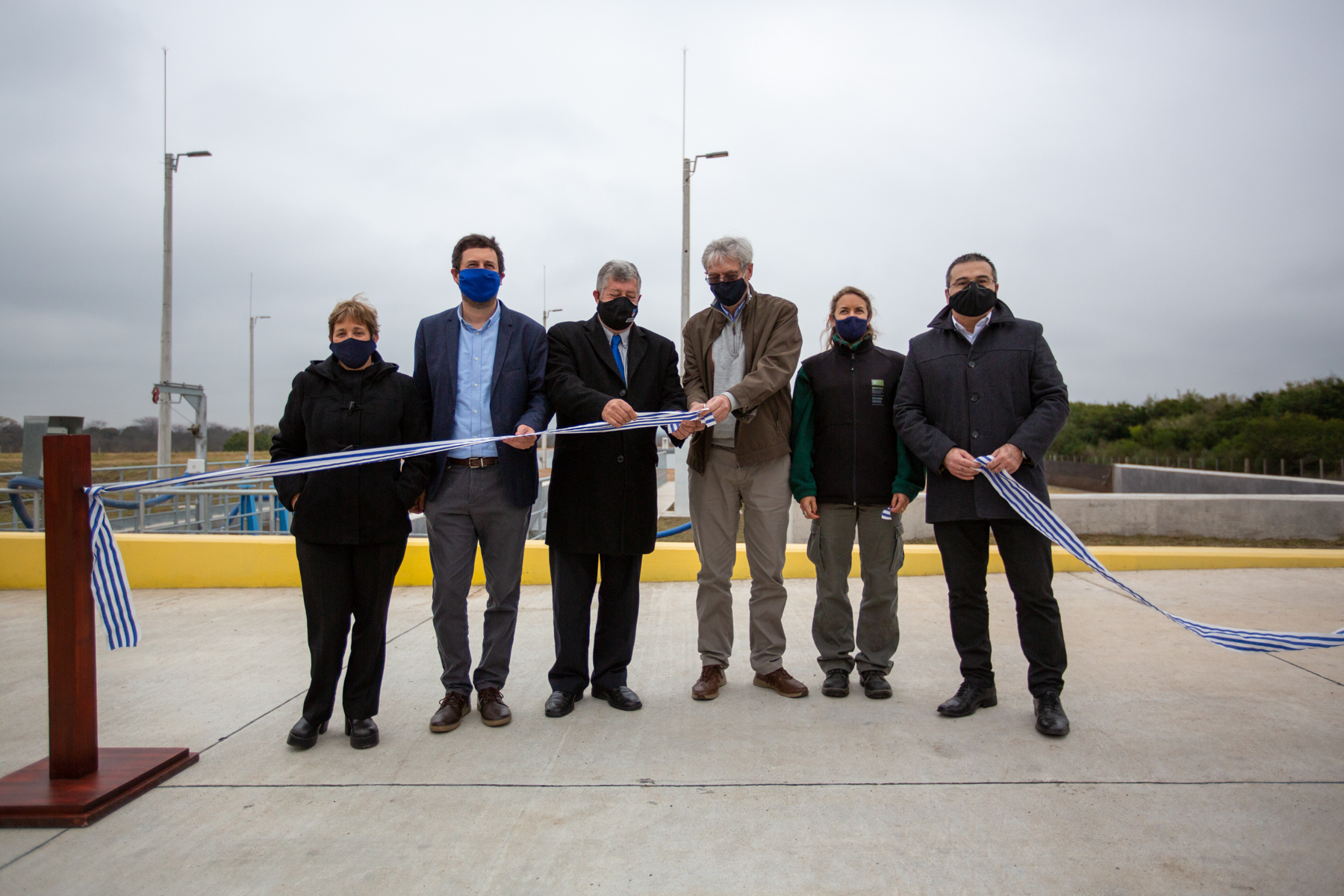 Montes del Plata inauguró Planta de Tratamiento de Barométricos para la región de Conchillas