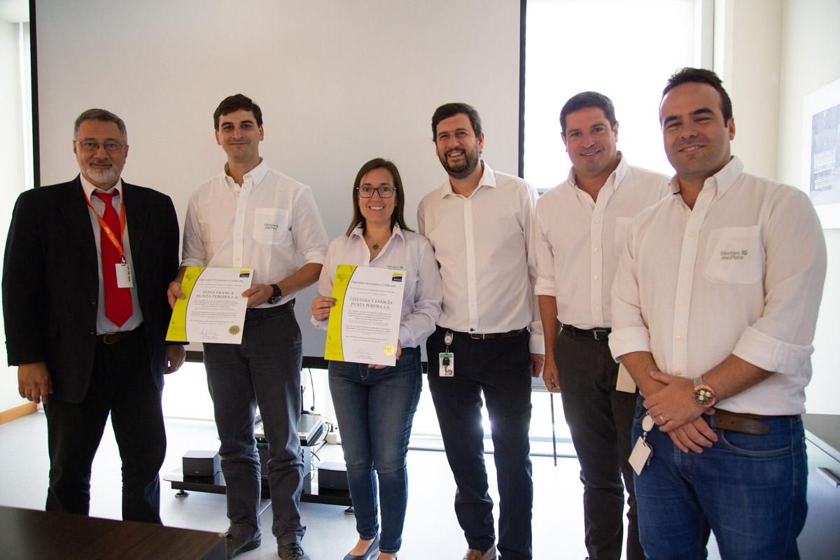 Montes del Plata recibió la certificación de Operador Económico Calificado (OEC), por la Dirección Nacional de Aduanas
