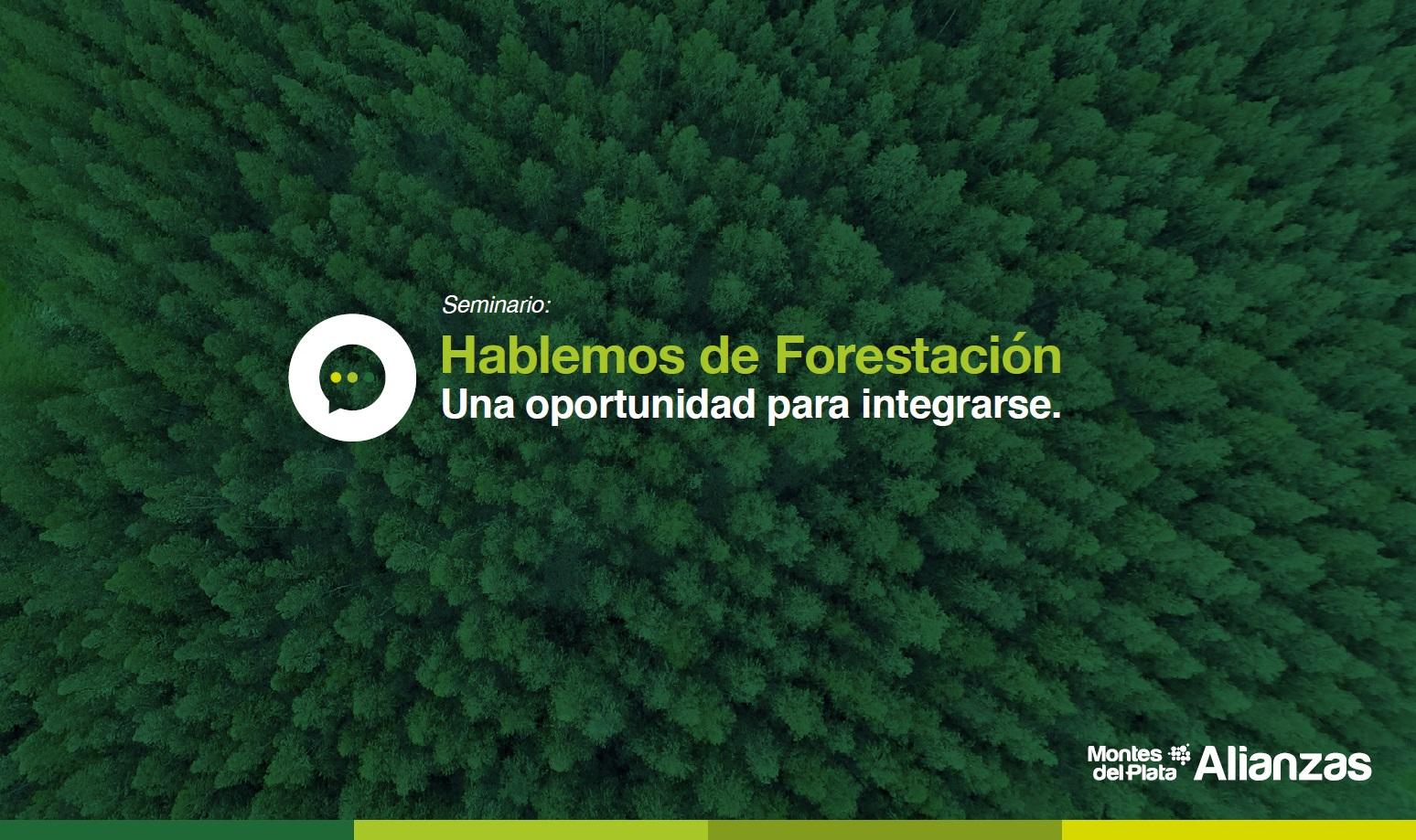 Seminario para conectarse con las oportunidades en torno a la forestación