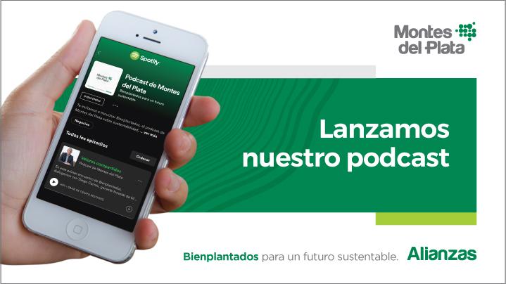 Montes del Plata inició un ciclo de podcasts sobre el negocio forestal
