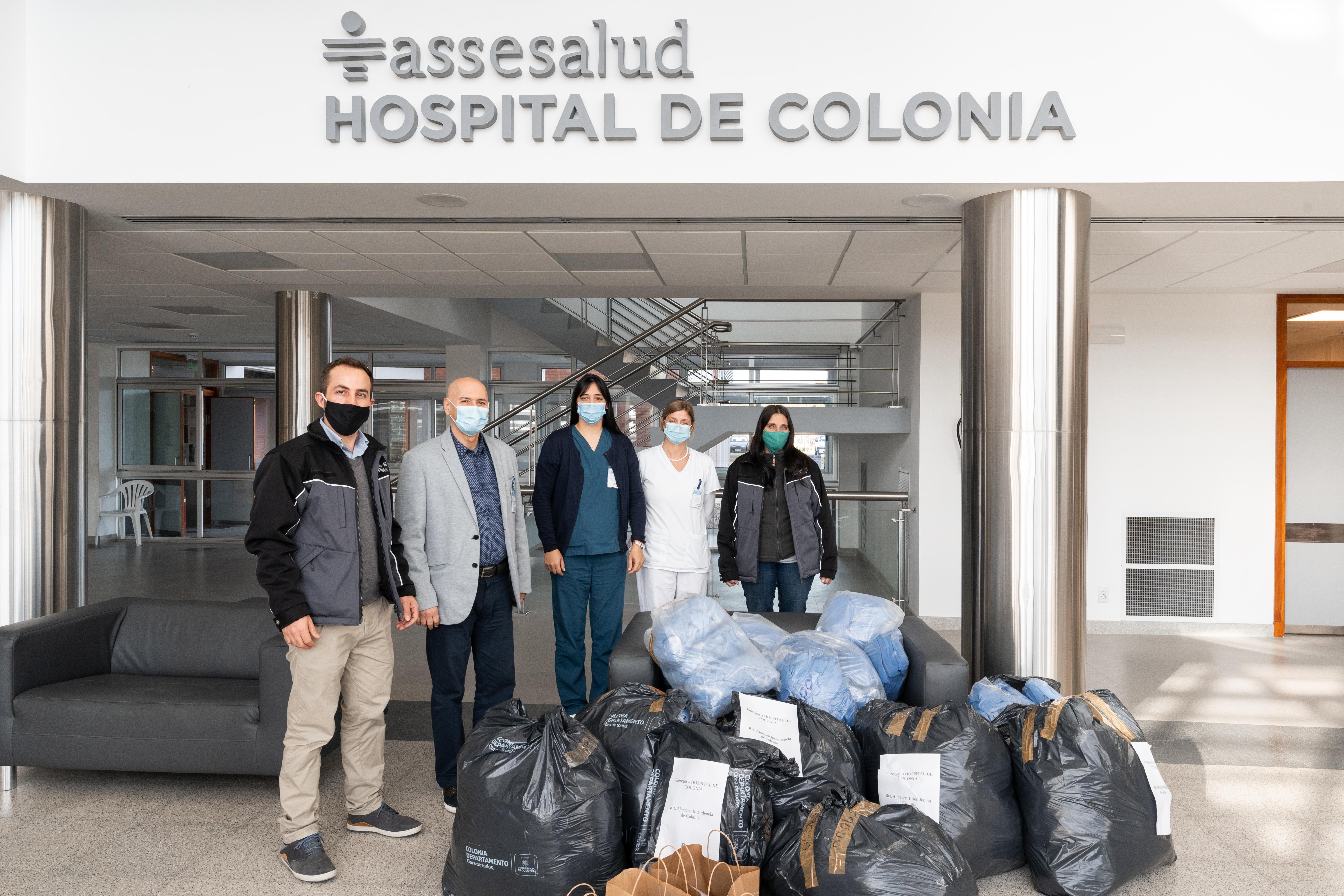Montes del Plata completó donación de 50.000 tapabocas a hospitales de Colonia, Río Negro, Soriano, Paysandú y Durazno