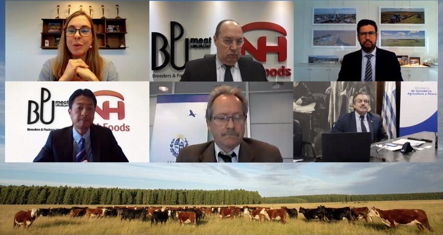 Montes del Plata y BPU Meat dan el puntapié inicial para desarrollar el primer sello de carne carbono neutral del Uruguay.