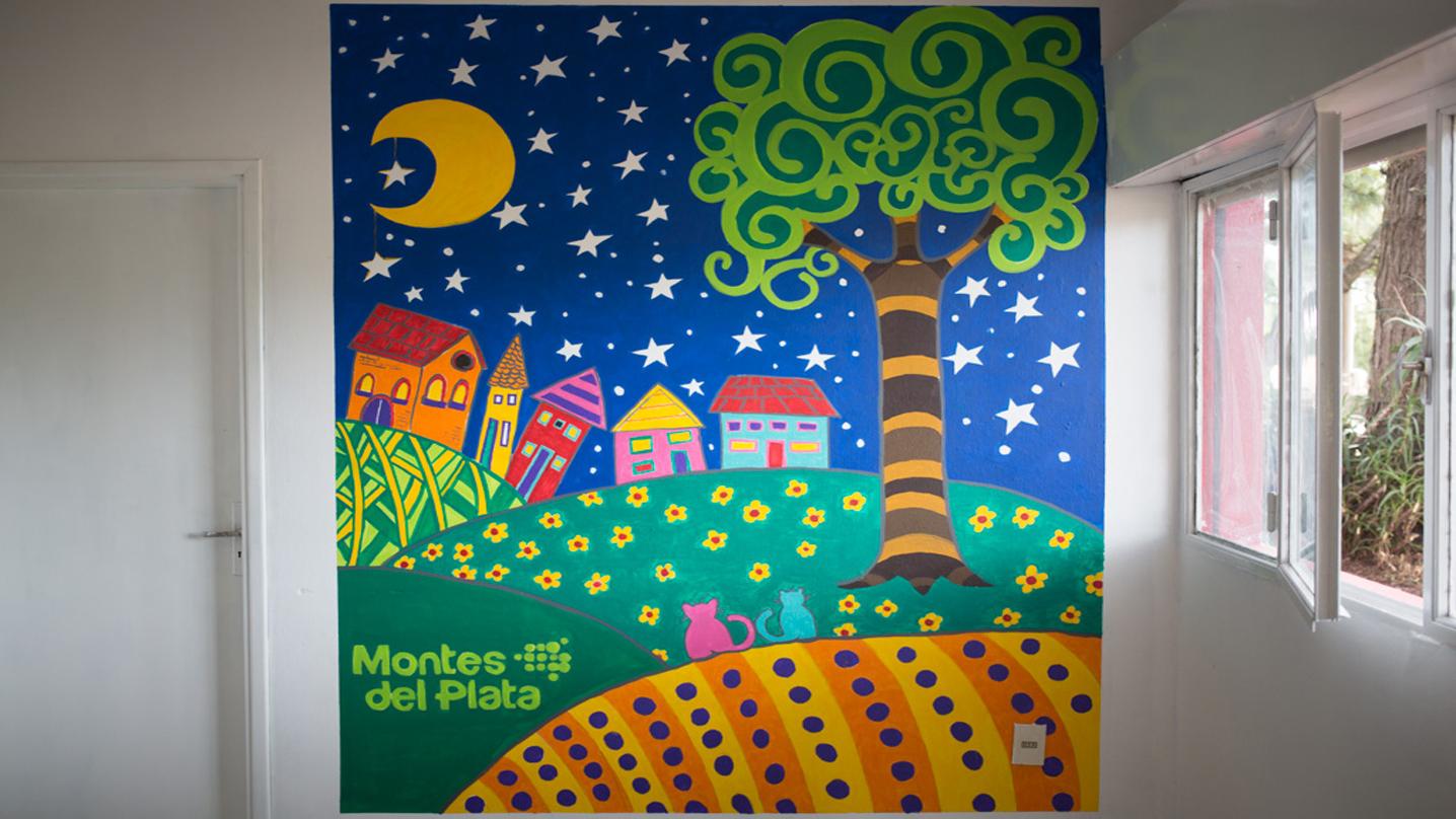 Escuela de Puerto Conchillas estrena nuevo local con el apoyo de Montes del Plata